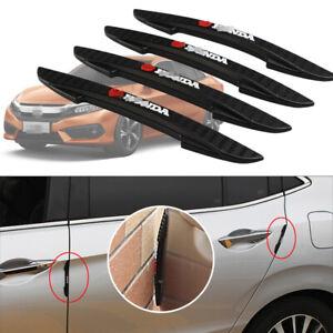 4pcs For Honda Civic Car Side Door Edge Guard Bumper Trim Protector PVC Sticker