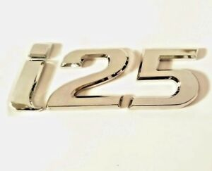 Hyundai i25 Chrome Letter Number Emblem Badge Rear Boot Trunk with Sticker HQ