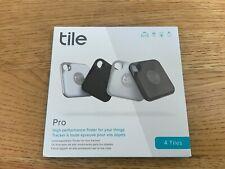 Tile RE20004 Pro 4pk Bluetooth Tracker