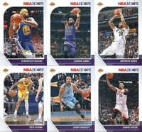 2019-20 Panini NBA Hoops Los Angeles Lakers Team Set of 13 Cards