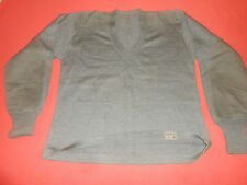 GREAT BRITAIN--1949 BRITISH ARMY - PARACHUTE V NECK WOOL  PULLOVER  1949 ,..,