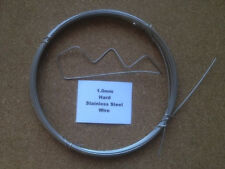1mm x 2m 19 SWG Stainless steel Wire Floristry Craft Bonsai Fishing Lures