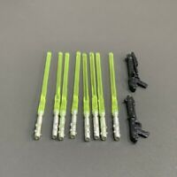 Lot 10 Pcs Lightsaber gun Accessory For Star Wars 3.75'' jedi obiwan Figure Toys
