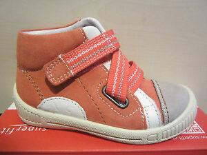 Superfit Walker Boots Apricot Kv Leather Footbed New