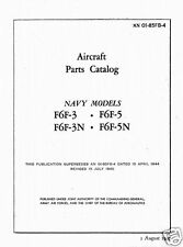 GRUMMAN F6F HELLCAT PARTS SERVICE MANUAL IPC rare WW2 1940's Period Details
