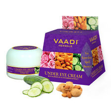 Vaadi Herbals Under Eye Cream With Almond Oil & Cucumber Extract 30gm
