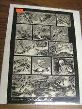 Teenage Mutant Ninja Turtles Adventures sourcebook - Orig. Negative  pg. 33