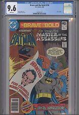 Brave and the Bold #159 CGC 9.6 1980 DC Comic: Batman and Ras Al Ghul: New Frame