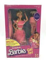 Twirly Curls Blonde Barbie Gift Set - Mattel 1982 Vintage Complete #5579