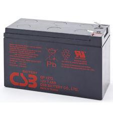 CSB GP 1272 F1 Rechargeable Sealed Lead Acid Battery 12V 7.2Ah GP1272F1 SLA
