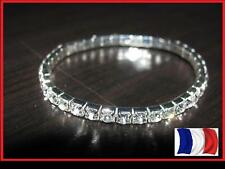 EXCLUSIF ! Bracelet Strass Diamant Brillant élastique mode tendance fashion