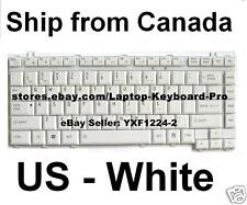 Toshiba Satellite A200 A205 A210 A215 Keyboard - US English White