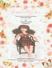 """#91  NEW  Crochet Pattern EW09 for Ellowyne Wilde 16"""""""