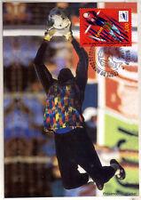 yt 3074  FRANCE CPA   Carte Postale Maximum FOOTBALL LYON
