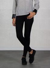 Jeans da donna regular neri