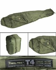 Mil-Tec Schlafsack Tactical 4 Oliv Outdoor Survival Campingschlafsack 230x80cm