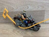Biker Mice From Mars Vintage 1993 Throttle's Blazin' Cycle With Box No Visor