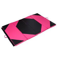 "Soozier 4'x6'x2"" Gym Tumbling Exercise Mat Gymnastics Mat Folding 4 Panel"