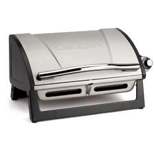 Cuisinart Portable Propane Gas Grill Small Table Top Stainless Steel *NEW*