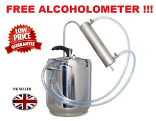 Stainless Steel Pressure Cooker & Distiller Alcohol Moonshine 3.5 - 36ltr Free