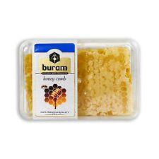 Buram 100% Pure All-Natural Gourmet Raw Honeycomb No Additives No Preservatives