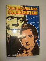 Man Who Was Frankenstein: Life of Andrew Crosse by Haining, Peter Hardback Book