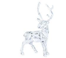 NIB $199 Swarovski CHRISTMAS STAG Reindeer Clear Crystal #5135854