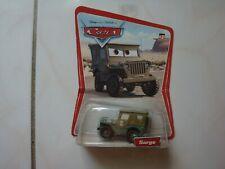 Disney Pixar Cars * Sarge * 1st Release Desert Scene/12 car backing !