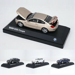 1:43 Scale BMW 650i Coupe Model Car Diecast Vehicle Collection Boys Gift White