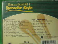 Bluegrass Gospel ~ volume #4 ~ Christian ~ Daywind ~ Karaoke Style ~ CD+G ~ NEW