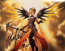 EXACT PROOF! LUCIE POHL Signed Autographed MERCY 8x10 Photo OVERWATCH