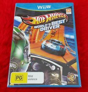 wii U HOT WHEELS WORLDS BEST DRIVER Racing Game NEW & Sealed Nintendo PAL UK