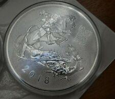 The VALIANT 2018 10oz Unzen Silber Silver in Originalkapsel