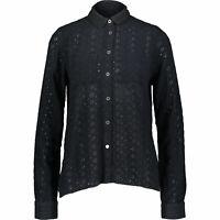 Superdry Women's Candice Schiffly Shirt, Eclipse Navy, size S / UK 10