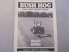 Heavy Equipment Manuals & Books for Bush Hog for sale | eBay