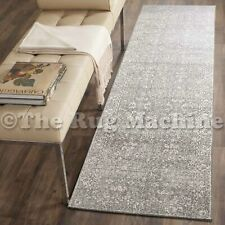 FORTUNA VINTAGE GREY ALLOVER ANTIQUE STYLE TRADITIONAL RUG RUNNER 80x300cm **NEW