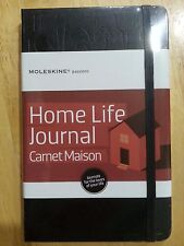 MOLESKINE PASSIONS HOME LIFE JOURNAL Carnet Maison Large HardCover Book 5 x 8.25