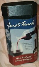 Final Touch Wine Scent And Flavor Enhancer Open Box