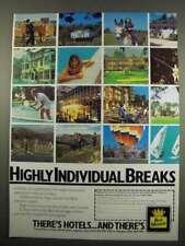 1984 Best Western Ad - Highly Individual Breaks