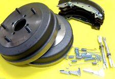 Bremstrommel Satz für Suzuki Samurai Santana E mit Bremsbacken Einsteller Federn