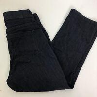 NYDJ Womens Alina Denim Mid-Rise Capri Jeans Size 2