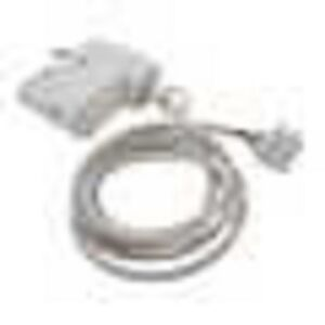 TS32-WH Track Adaptor, 3 Circuit Pre-Wired to 1.5m Cable