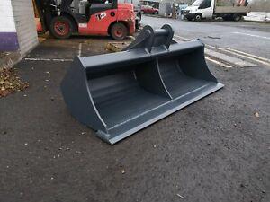 13 Ton 6ft Excavator grading Sheugh Drain Bucket