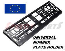 Euro License number Plate Holder Frame for Car UK EU German  European BMW  AUDI