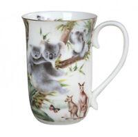 New Fine Bone China Australian Wildlife Coffee Tea Mug w Handle Cup Koala 405cc