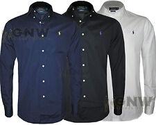 Camicie casual e maglie da uomo a manica corta Ralph Lauren in cotone