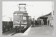 GLEN WAVERLEY First train new station 5th May 1930 modern digital photo Postcard
