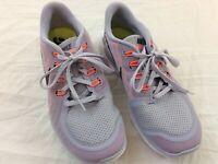 Nike Purple Barefoot Ride Free 5.0 Womens Size 8 Running Shoes 724383-502 EUC
