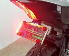 Yamaha YZF-R6 2017+ Fender Eliminator w/ Red LED Turn Signals - Smoked Lens
