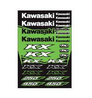 Factory Effex Kawasaki Stic Ker Sheets Kawasaki Kx P/N 22-68130